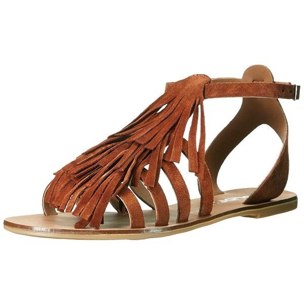 J Slides Women's Kai Flat Sandal - 8