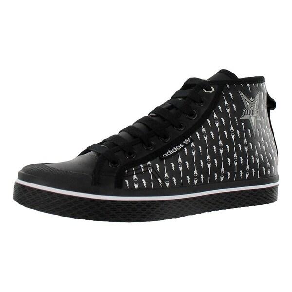 Adidas Honey Mid Womens Shoes Black/silver - 8.5 b(m) us