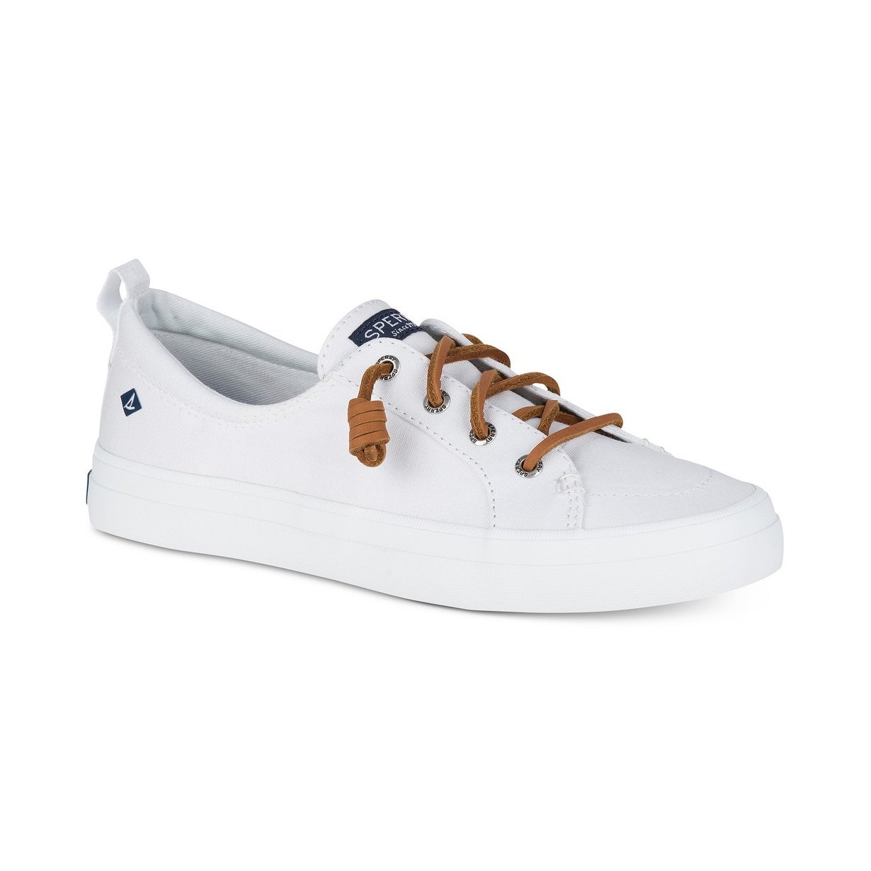 Sperry Womens Crest Vibe Canvas Low