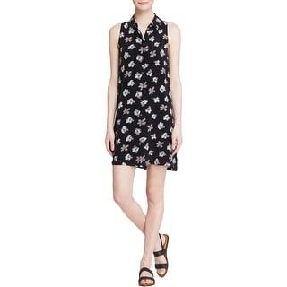 Equipment Womens Casual Dress Silk Floral Print