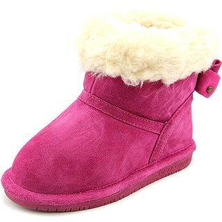 Bearpaw Harper Toddler Toddler  Round Toe Suede Pink Winter Boot