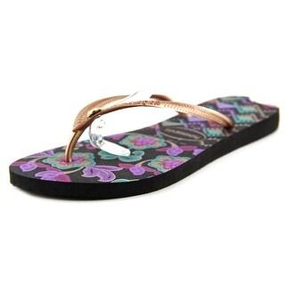 Havaianas Slim Royal Women Open Toe Synthetic Flip Flop Sandal