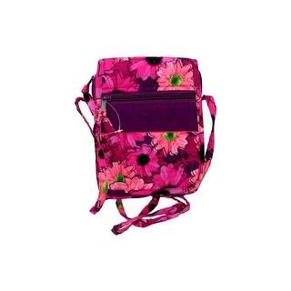 Darice Fashion Bags Fabric Hipster Flrl Pink