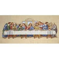 """26.5""""X10"""" 14 Count - The Last Supper Counted Cross Stitch Kit"""