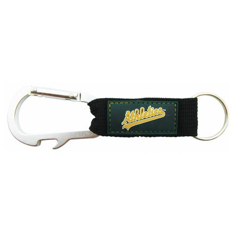 Oakland Athletics Carabiner Keychain
