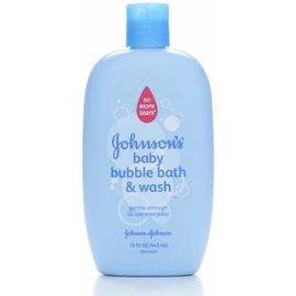 JOHNSON'S Baby Bubble Bath & Wash 15 oz