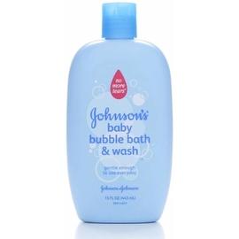 JOHNSON'S Baby Bubble Bath & Wash 15 oz
