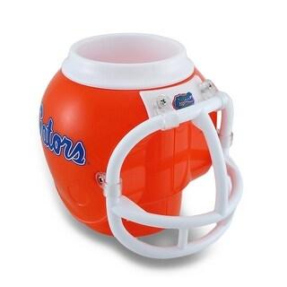 Florida Gators Helmet Fan Mug Drink Holder w/Removable Cup - Orange