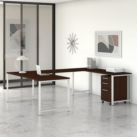 400 Series 72W U Shaped Desk with Drawers by Bush Business Furniture