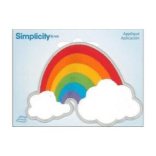 Simplicity Applique Iron On Rainbow