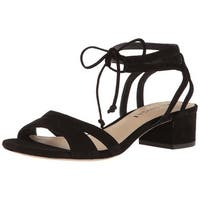 Via Spiga Womens V-Taryn Suede Open Toe Casual Strappy Sandals