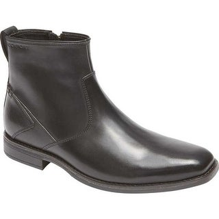Rockport Men's Traviss Zip Boot Black Leather