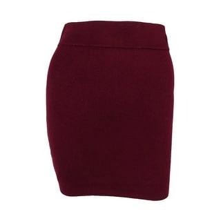 BCBGeneration Women's Solid Knit Skirt