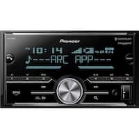 Pioneer  4V Outusb Double Din Mechless with Bluetooth Satellite Radio