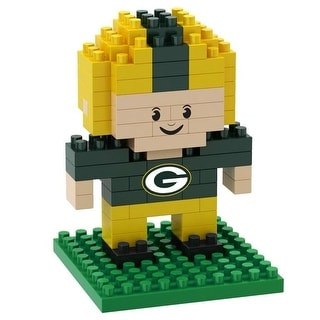 Green Bay Packers 3D NFL BRXLZ Bricks Puzzle Player