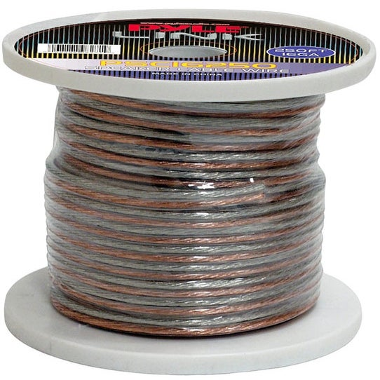 16 Gauge 250 ft. Spool of High Quality Speaker Zip Wire