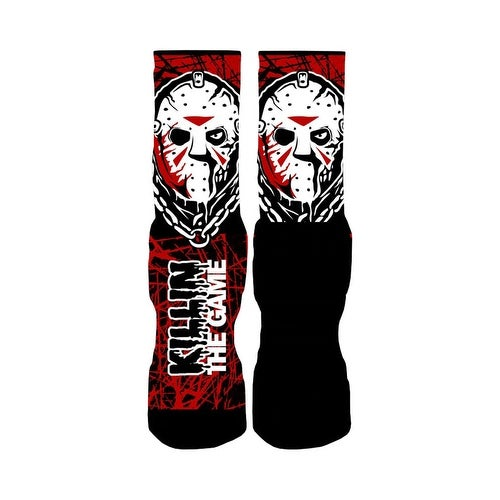 Rufnek Jason Voorhees Killin' the Game 2.0 Men's Socks