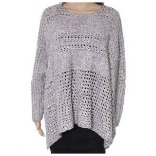 Polo Ralph Lauren NEW Gray Womens Medium M Knit Pullover Sweater
