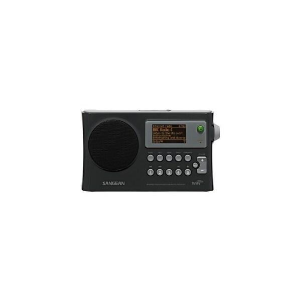 Sangean WFR28b Sangean WFR-28 Rechargeable Portable WiFi Internet Radio-Black