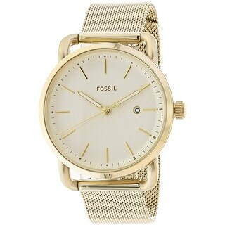 Fossil Women's The Commuter Gold Stainless-Steel Quartz Fashion Watch