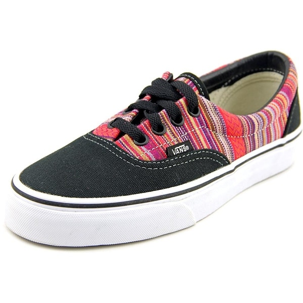 Vans Era Women Round Toe Canvas Black Sneakers