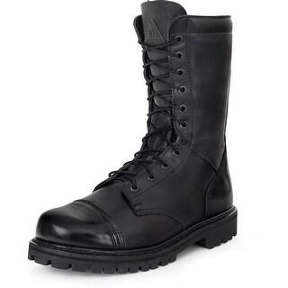 "Rocky Work Boots Mens 10"" Waterproof Zip Jump Boot Black FQ0002095"