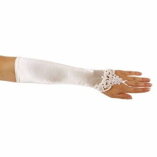 Unforgettable Fingerless Sequined Glove For Ladies