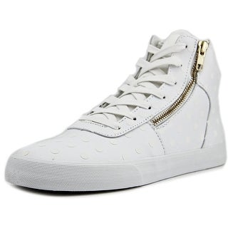 Supra Cuttler Women Round Toe Leather Skate Shoe