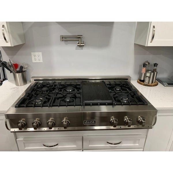 ZLINE 48 in RT48 Rangetop with 8 Gas Burners