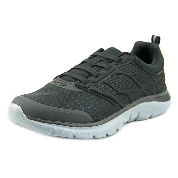 Easy Spirit Megabite Women Round Toe Canvas Black Walking Shoe