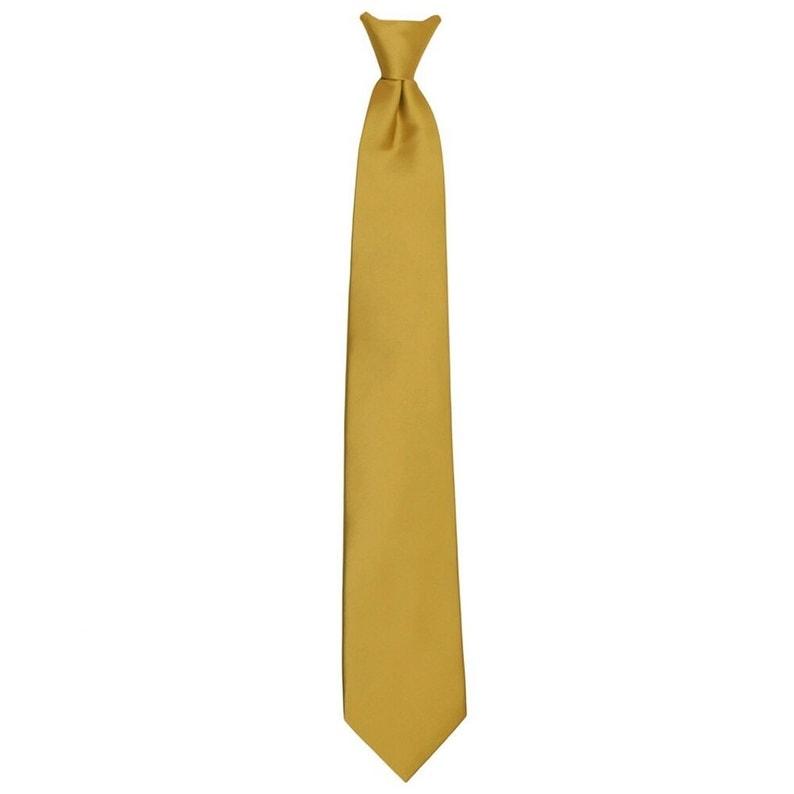 Steel Blue Jacob Alexander Boys 14 Pretied Ready Made Solid Color Zipper Tie