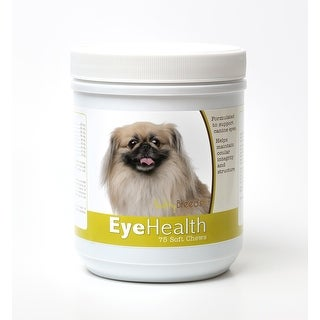 Healthy Breeds Pekingese Dog Eye Care Support Soft Chews 75 Count