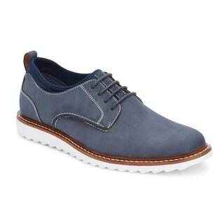 G.H. Bass & Co. Mens Dirty Buck 2.0 Nubuck Plain Toe Oxford Shoe