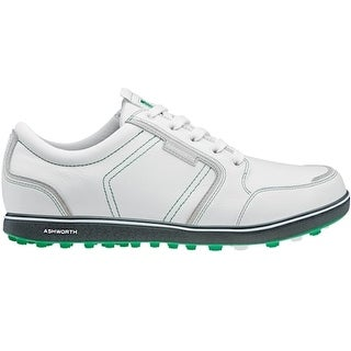 Ashworth Men's Cardiff ADC Whte/Grey/Fairway Green Golf Shoes G54298