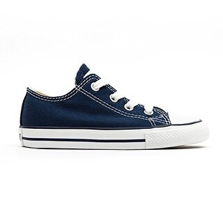 Converse Kids All Star Core Ox (Infant/Toddler) Navy Sneaker 10 Toddler M