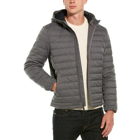 Brooks Brothers Quilted Down Bomber Jacket - 03/015