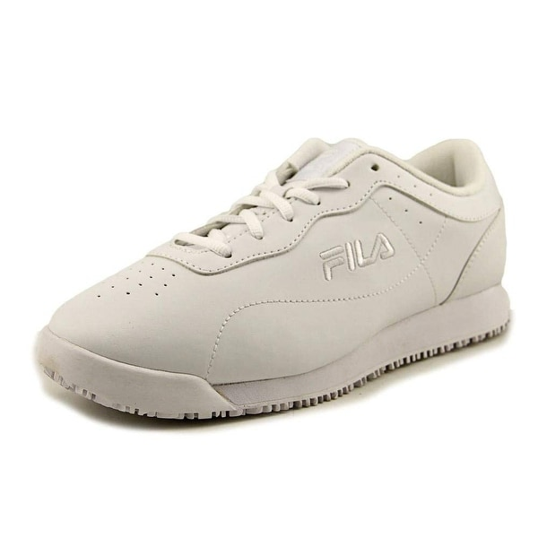 Shop Fila Womens Low Top Lace Up Running Sneaker - On Sale - Free ... fb4b718a0e