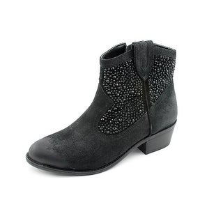 INC International Concepts Cayne2   Round Toe Suede  Ankle Boot