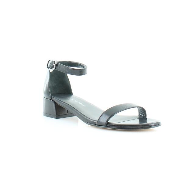Stuart Weitzman Nudist June Women's Sandals & Flip Flops Black