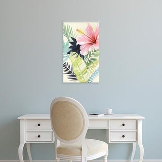 Easy Art Prints Grace Popp's 'Tropical Punch I' Premium Canvas Art