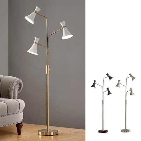 """HOMEGLAM Bonnie 75""""H 3 lights Tree Floor Lamp"""