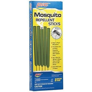 Pic MOS STK Mosquito Repellent Sticks, 5 Piece/Pack|https://ak1.ostkcdn.com/images/products/is/images/direct/62b8cbceef1e41394debf43184339b946900d60a/Pic-MOS-STK-Mosquito-Repellent-Sticks%2C-5-Piece-Pack.jpg?impolicy=medium