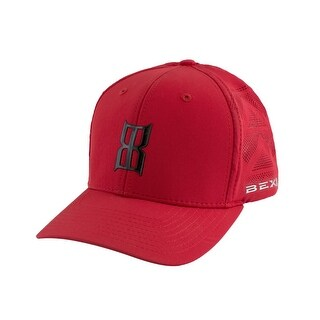 Bex Hat Adult Arrow Adjustable Hook & Loop Cyphon Stretch Red H0006R