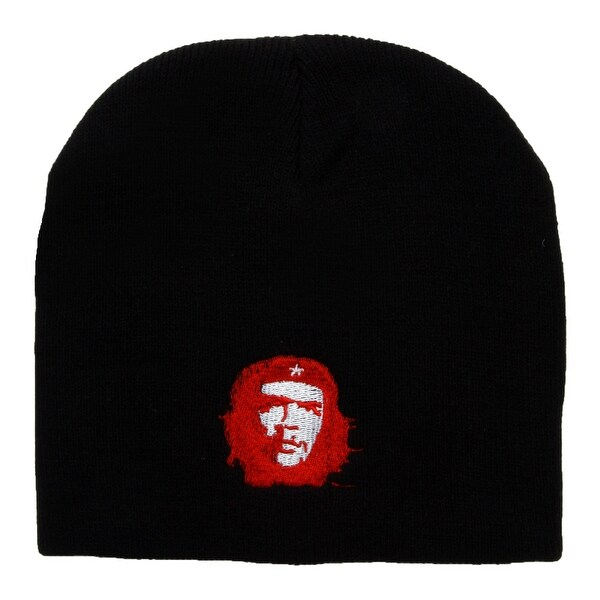 Shop Red Che Guevara Cuffless Short Beanie - Black - Free Shipping On  Orders Over  45 - Overstock - 20669457 ee8a24c2ea0d