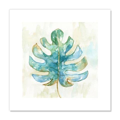 Tropical Leaf II - Green