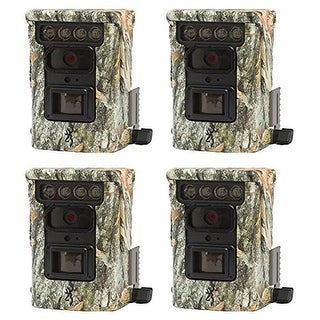 (4) Browning BTC9D Defender 850 Wifi/Bluetooth Trail Game Camera (20MP) - Camouflage