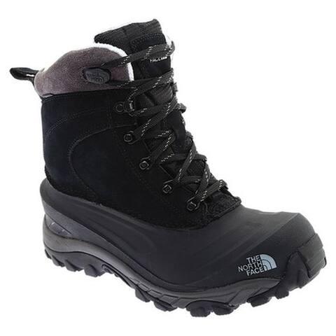 The North Face Men's Chilkat III Snow Boot TNF Black/Dark Gull Grey