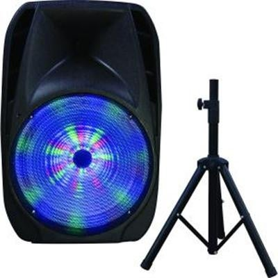 "Supersonic Iq-4415Djbt 15"" Portable Bluetooth Dj Speaker With Stand"