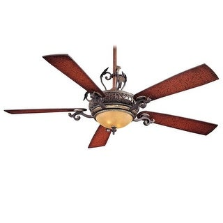 """MinkaAire Napoli 5 Blade 56"""" Napoli Ceiling Fan - Integrated Light, Wall Control and Blades Included"""