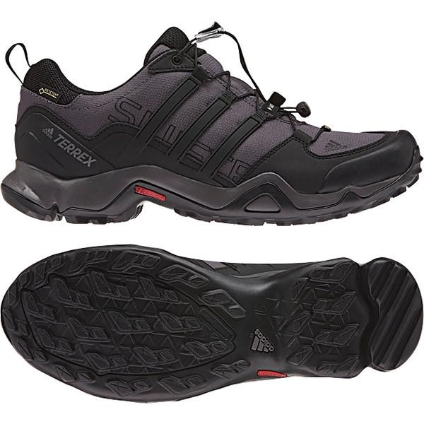 f1301bd37acb5 Shop Adidas Outdoor 2017 Mens Terrex Swift R GTX Running Shoes - BB4625 -  dark grey black granite - Free Shipping Today - Overstock - 17415691